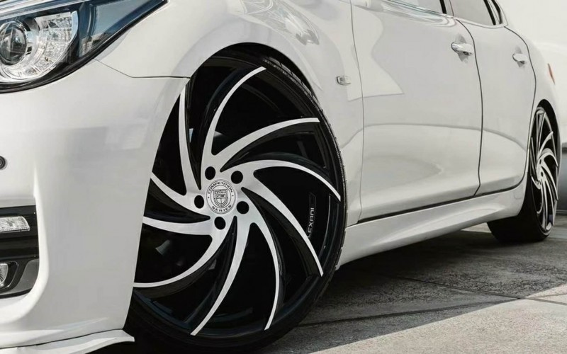 Nice car on Lexani Concave Sport series, Twister wheels