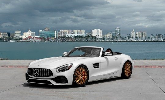 Mercedes GT C on LZ-Aries