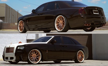 """West Coast Customs Ryan"" - Rolls Royce Ghost on LF Wheels"