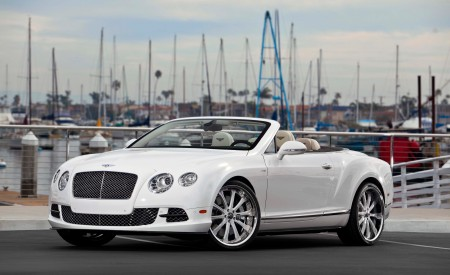 "Bentley Continental GTC on Custom 22"" LF Wheels"