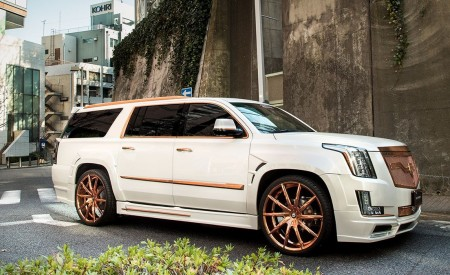 "Cadillac Escalade on Rose Gold 26"" CSS-15"