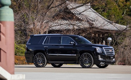 Cadillac Escalade on Wraith w/ Next Nation body kit
