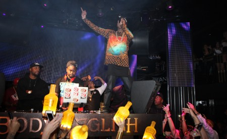Tyga Hosts Lexani Lifestyle Party