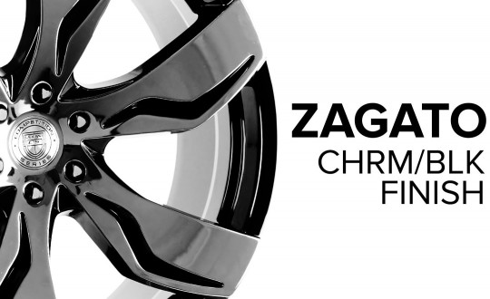 Zagato - Chrome and Black Finish