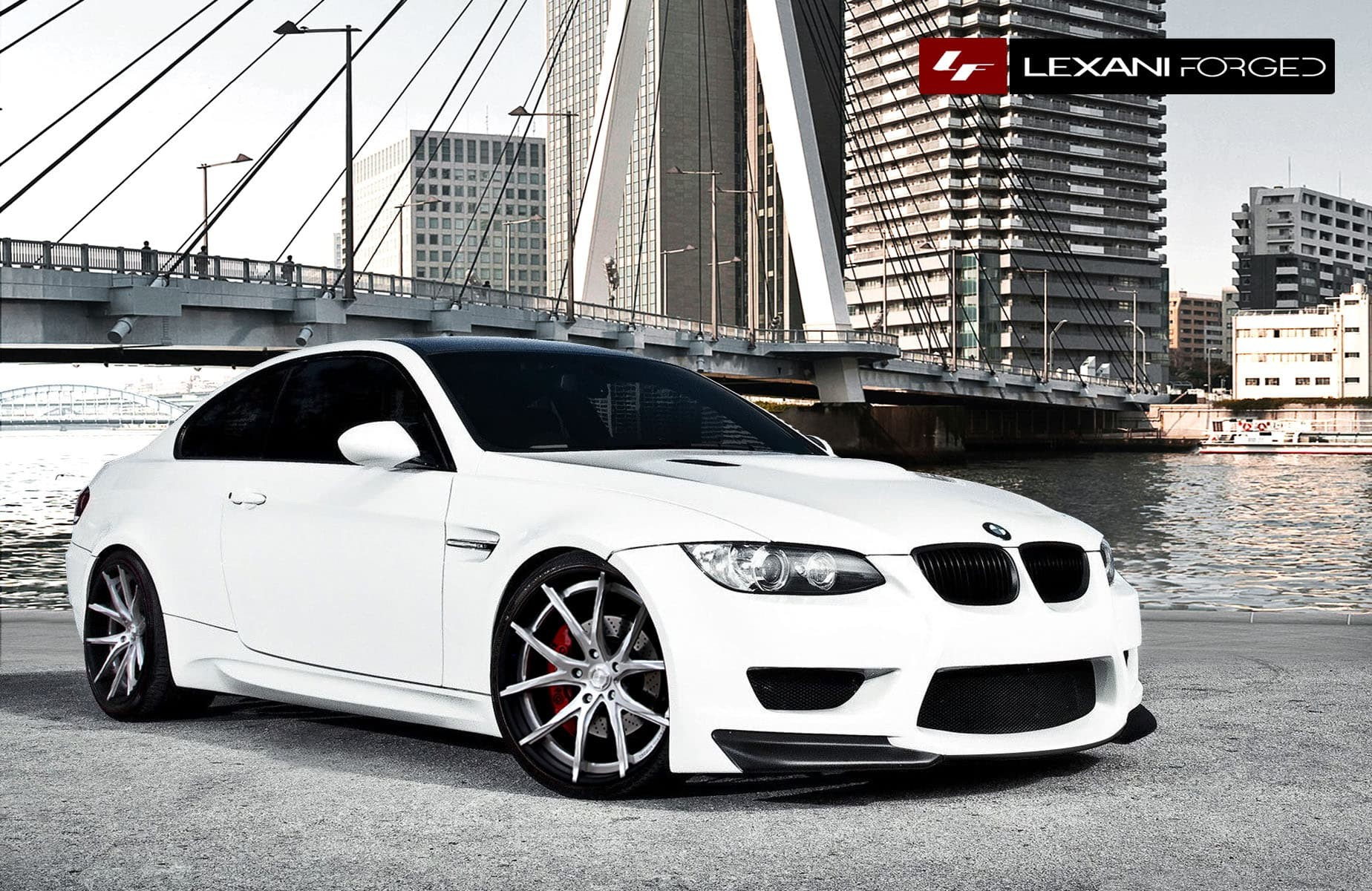 2013 BMW M3 with all brushed LZ-102.