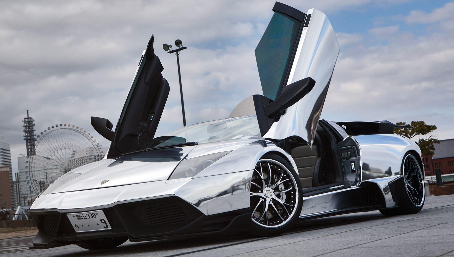 Custom LF-113 on the Lamborghini Murcielago.