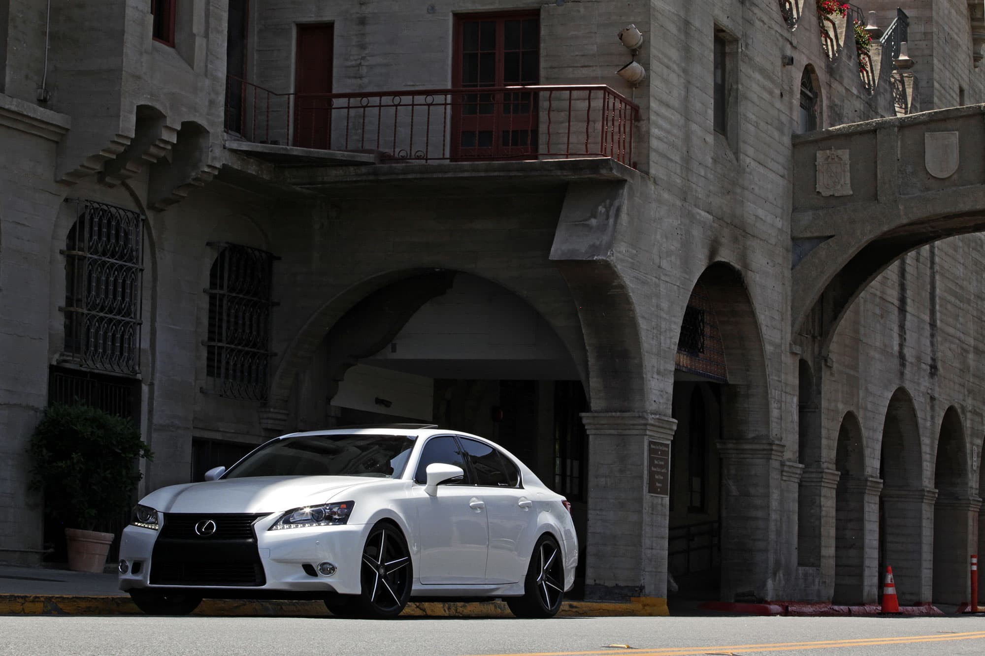 The 2013 Lexus GS on R-Four Wheels.