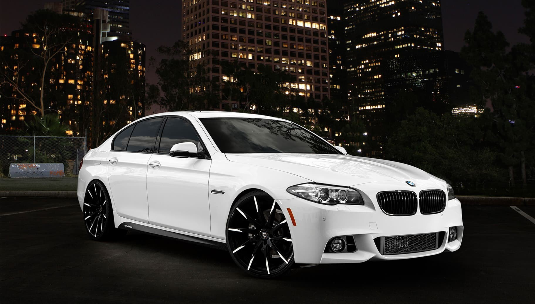 Customs CSS-15 on the 2014 BMW 5 Series