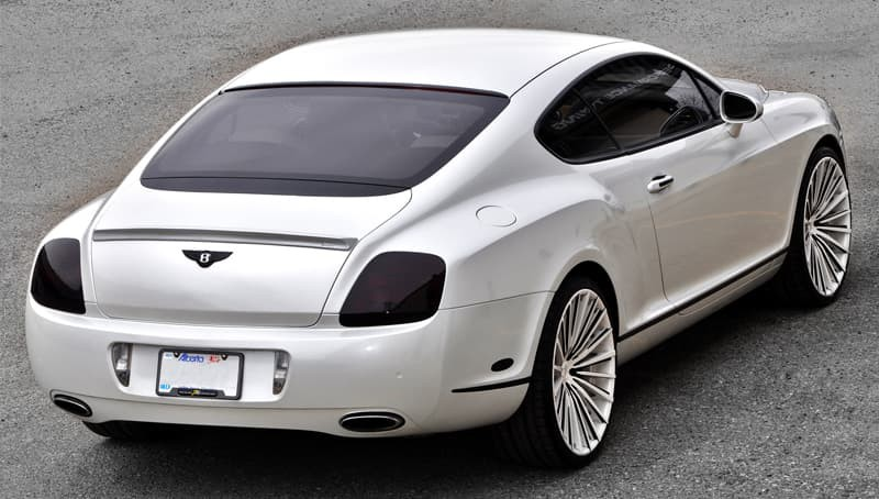 Custom LZ-722 on the 2014 Bentley Continental.