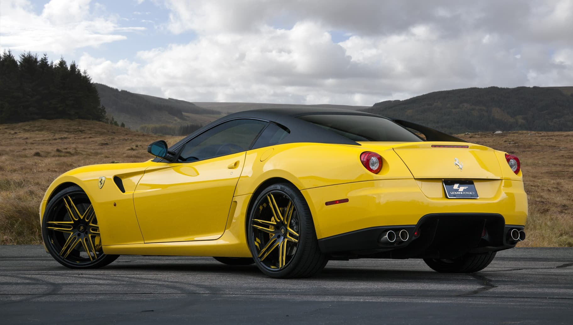 Custom LZ-106 on the Ferrari 599 GTB.