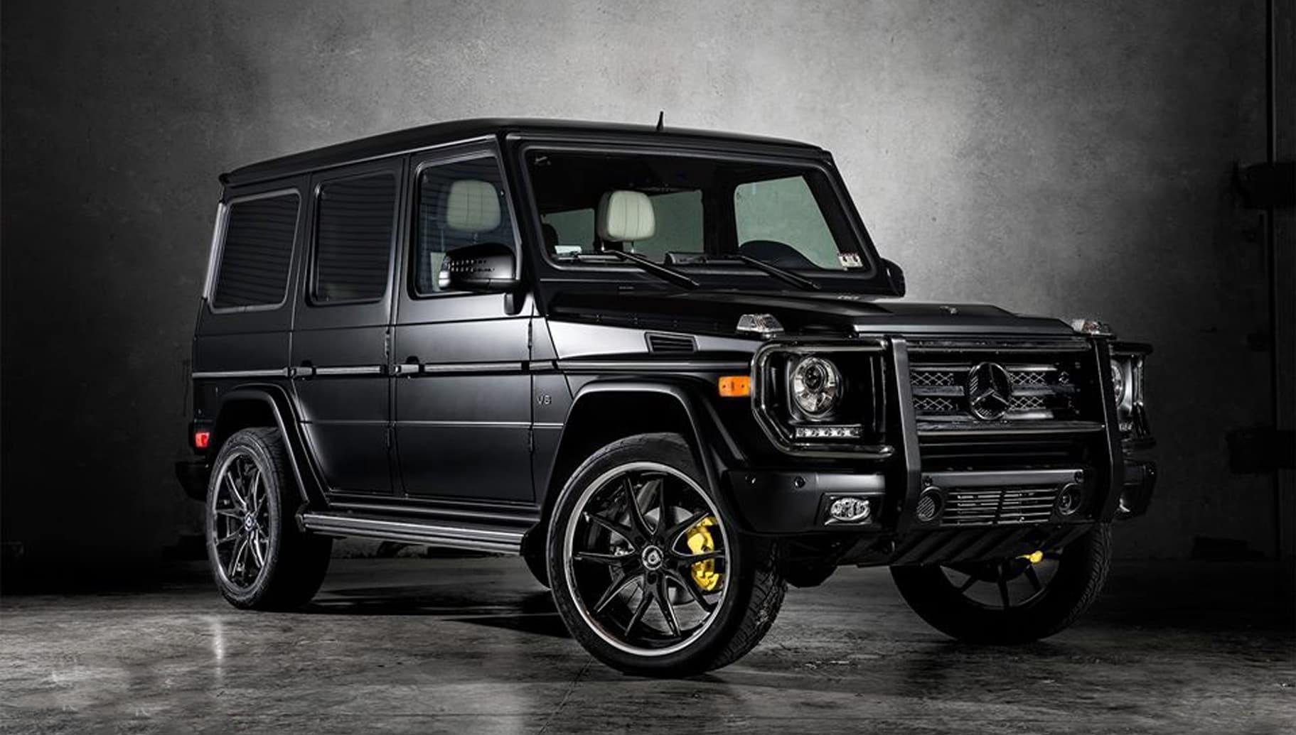 Mercedes G-Wagon with a BGS finish on the R-Twelve.