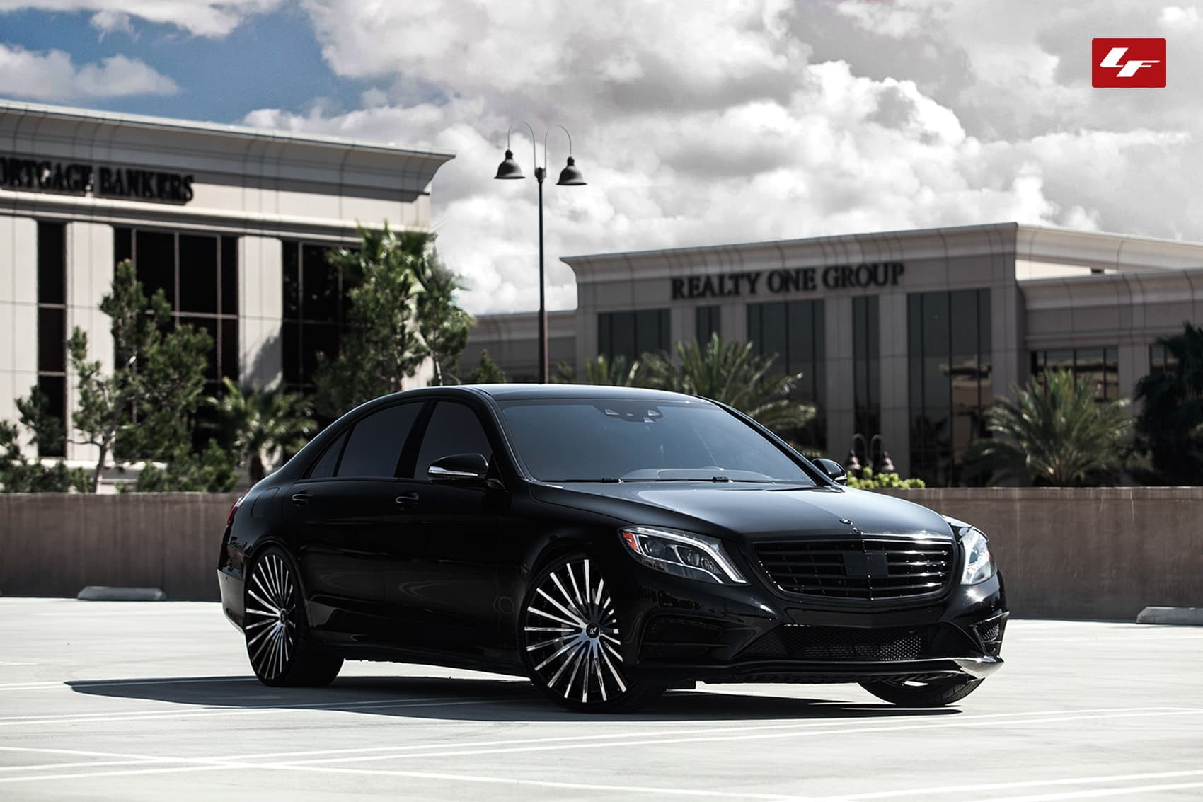 Custom LZ-722 on the 2014 Mercedes S-Class.