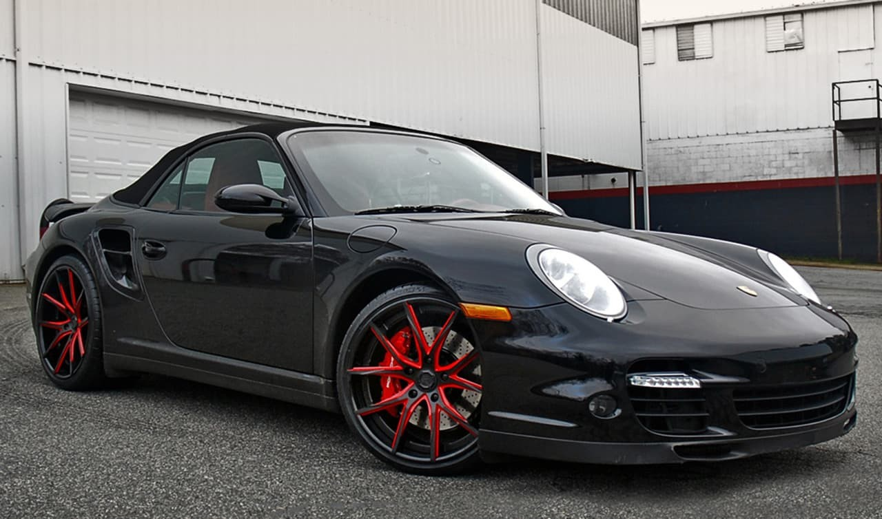 LZ-102 Custom Finish on Porsche 911
