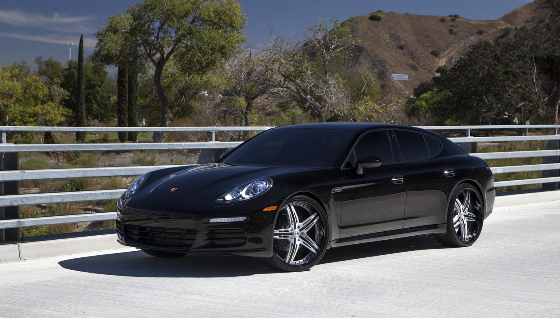 Custom LF-732 on the 2014 Porsche Panamera.