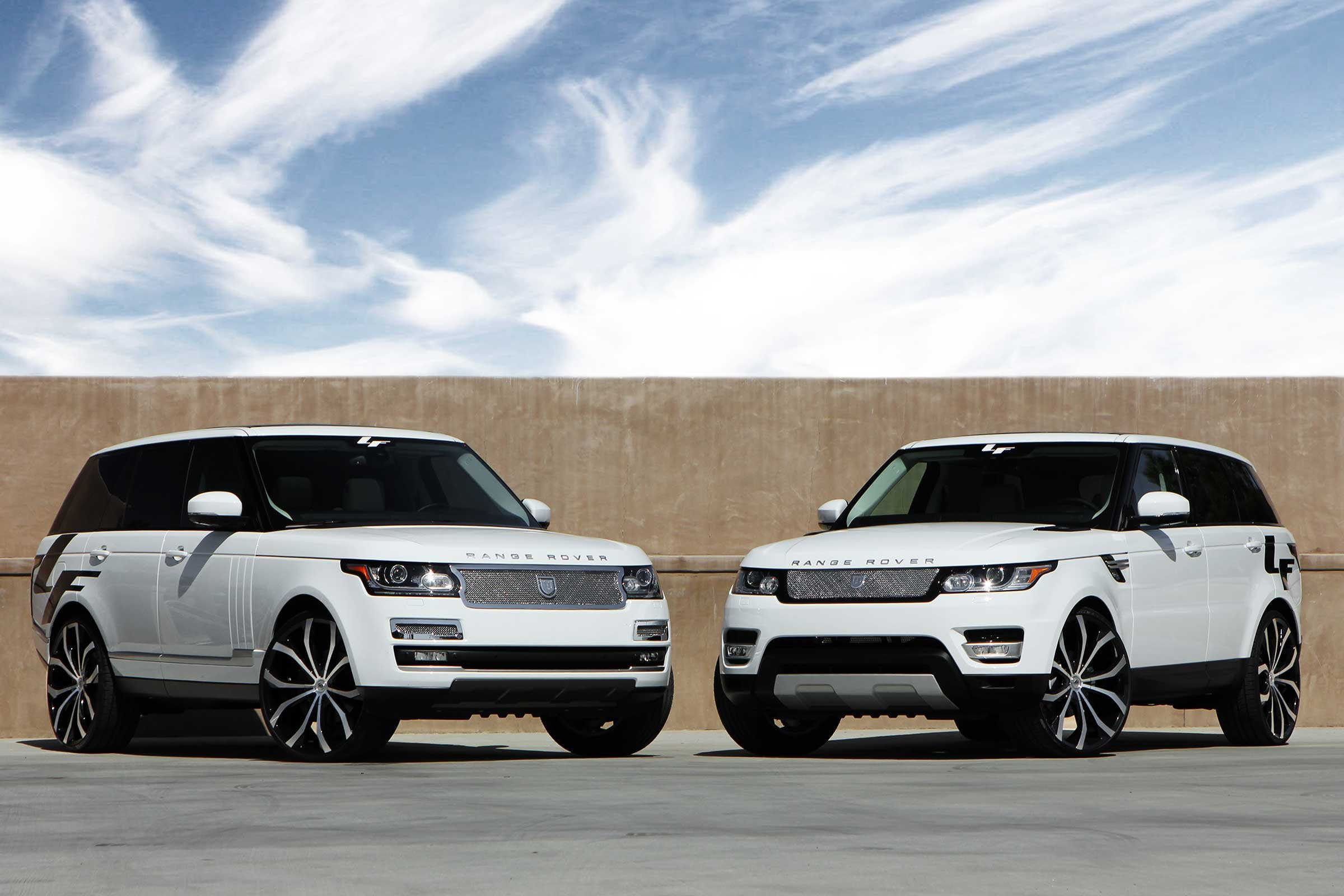 The 2014 Range Rover Sport, with 28