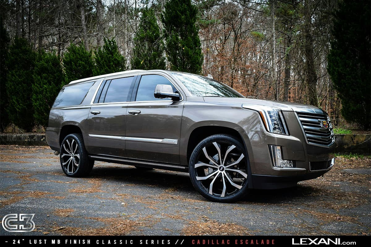 Cadillac Escalade on 24