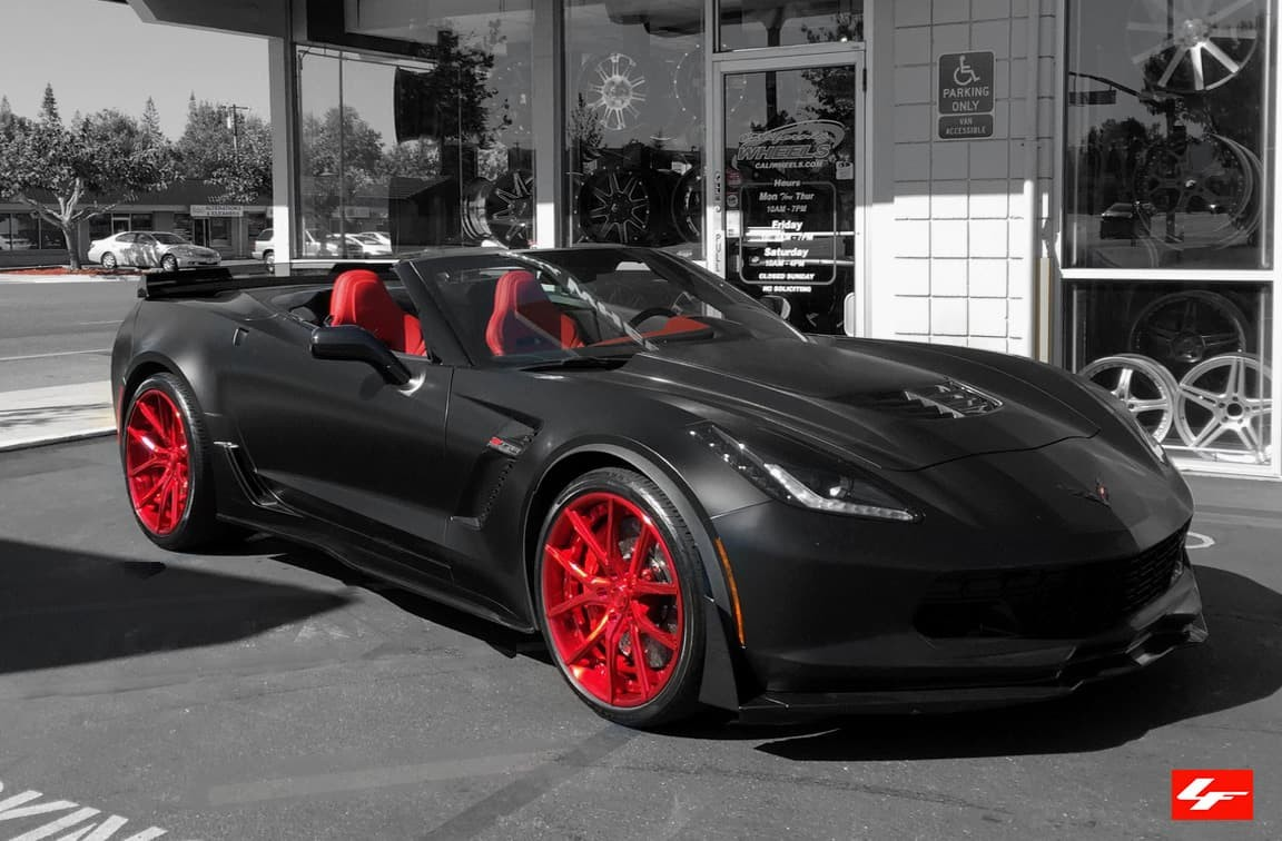 2015 Corvette Z06 on LZ-102