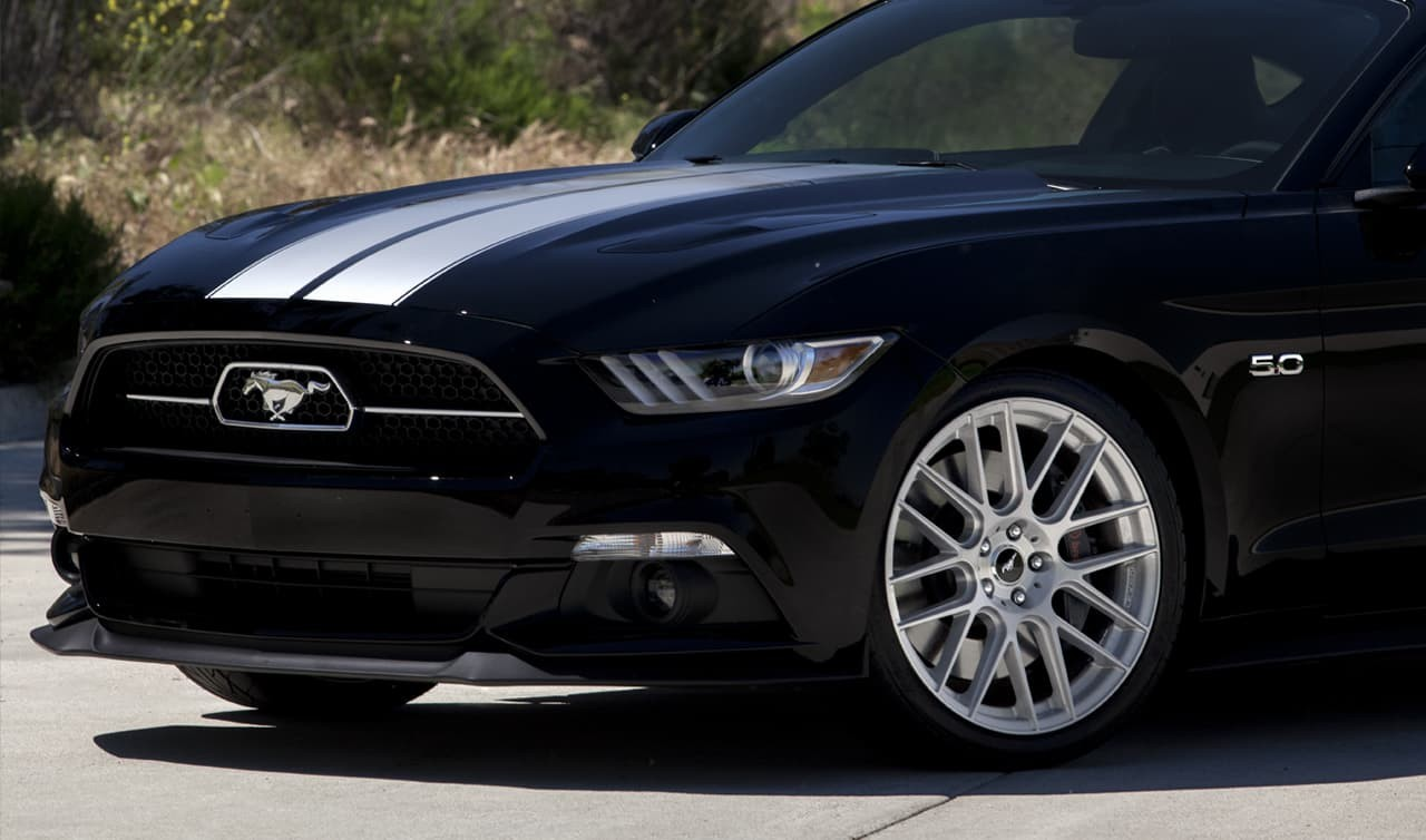 Full Brush CSS-8 on the 2015 Mustang GT 5.0.