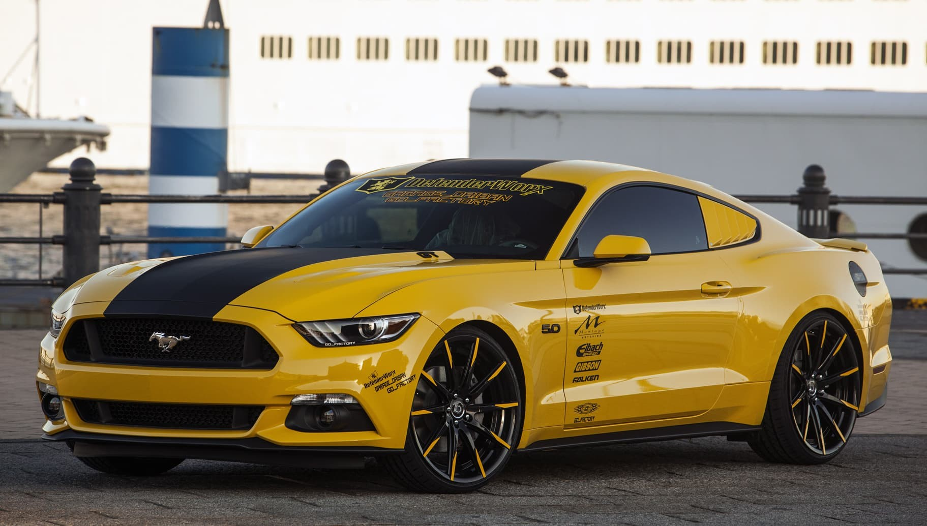 Custom CSS-10 on the Ford Mustang.
