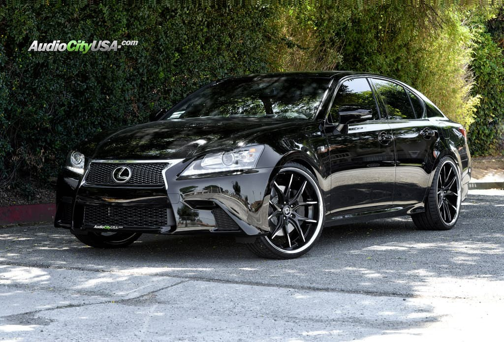 2015 Lexus GS350 on R-Twelve