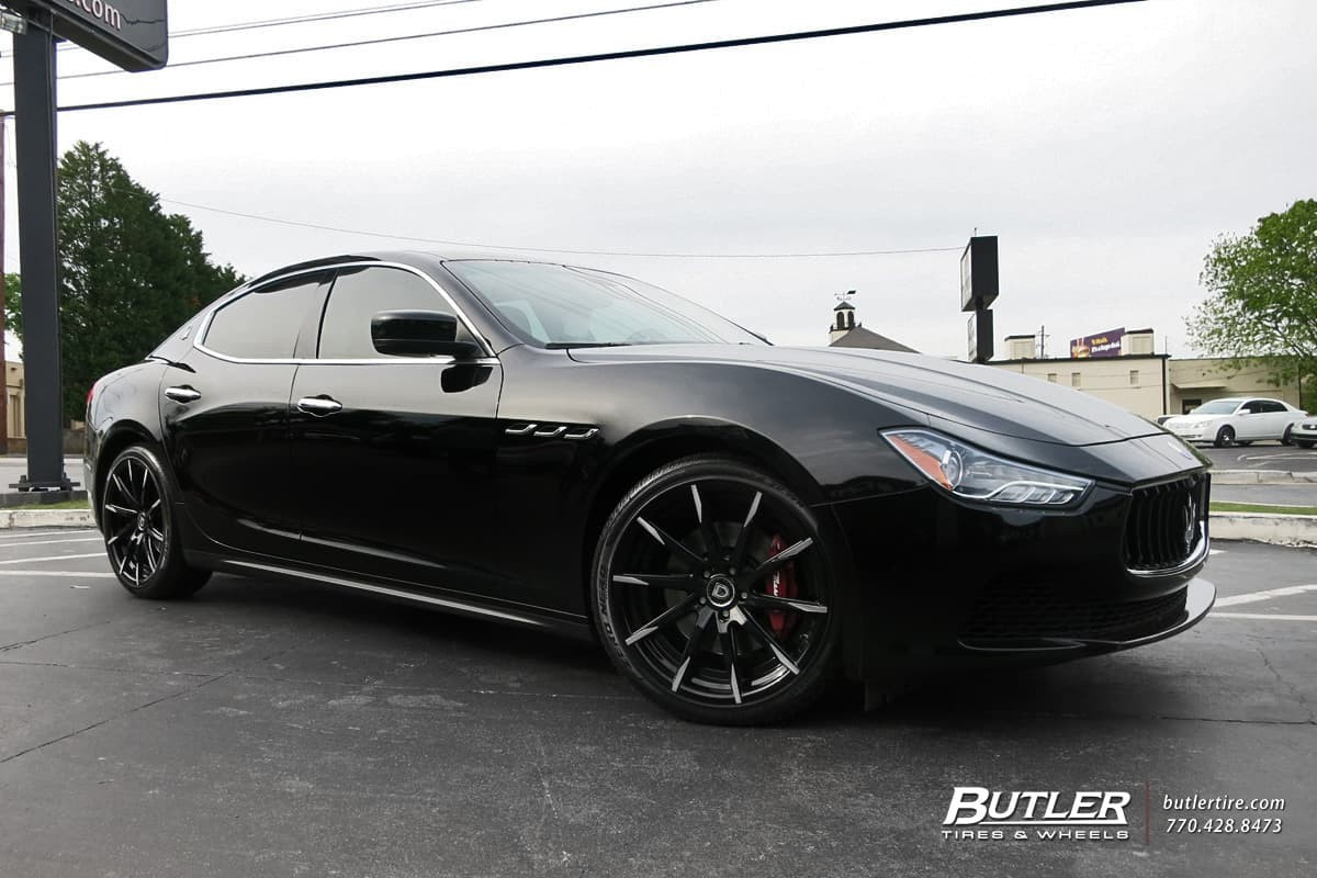 2015 Maserati Ghibli on CSS-15
