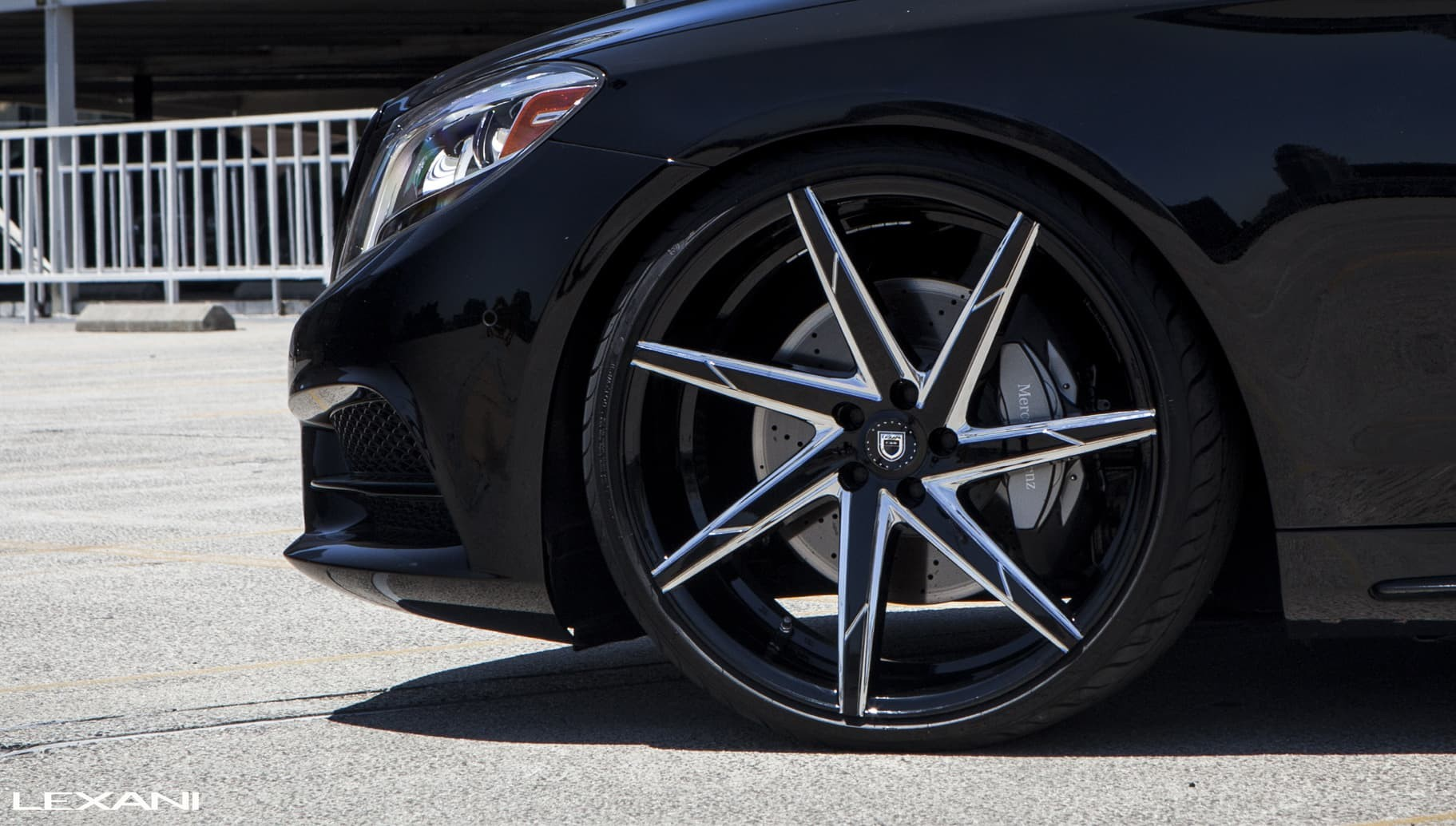 Custom CSS-7 on the 2015 Mercedes S550.