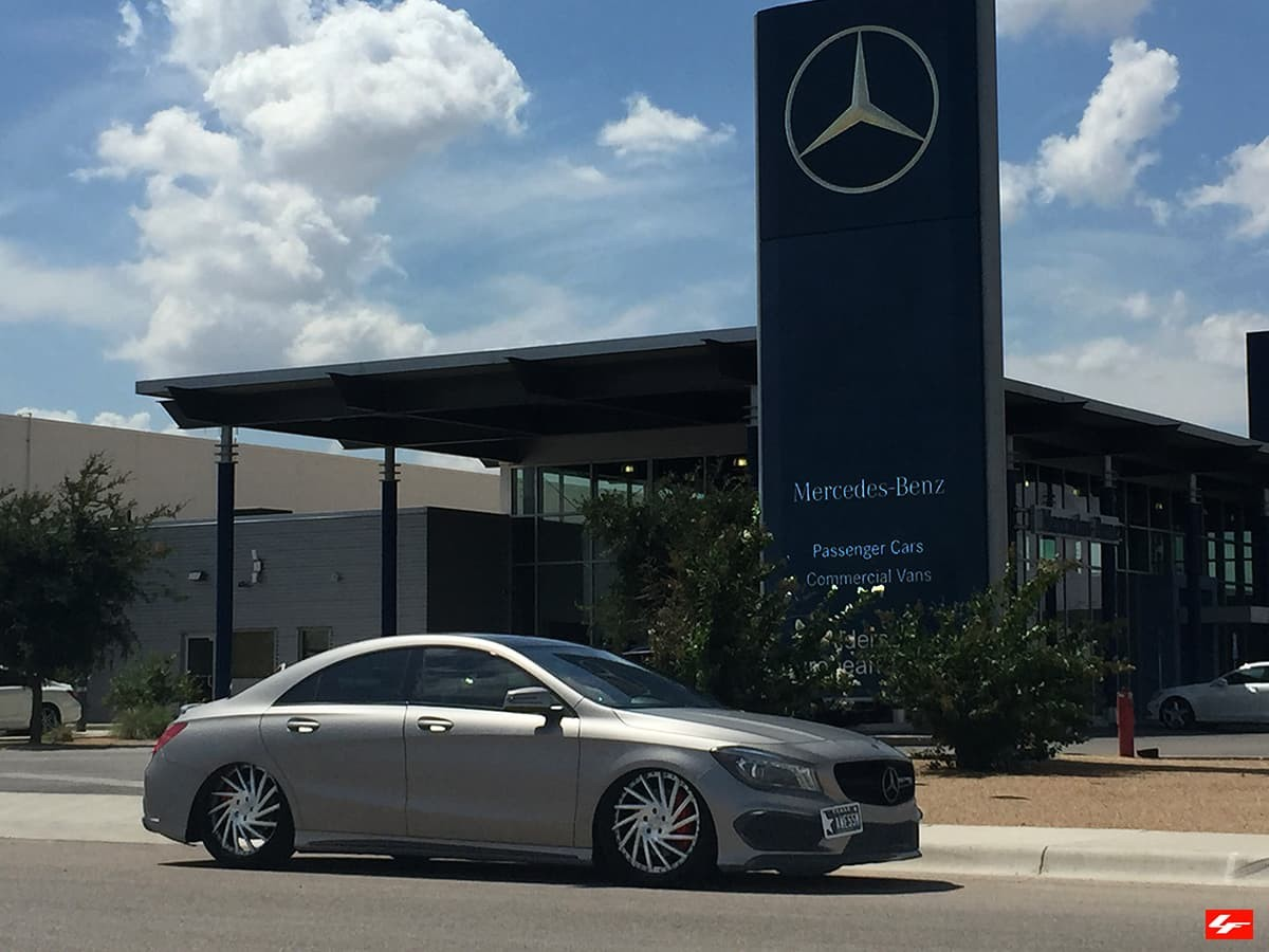 2015 Mercedes CLA on LF-114