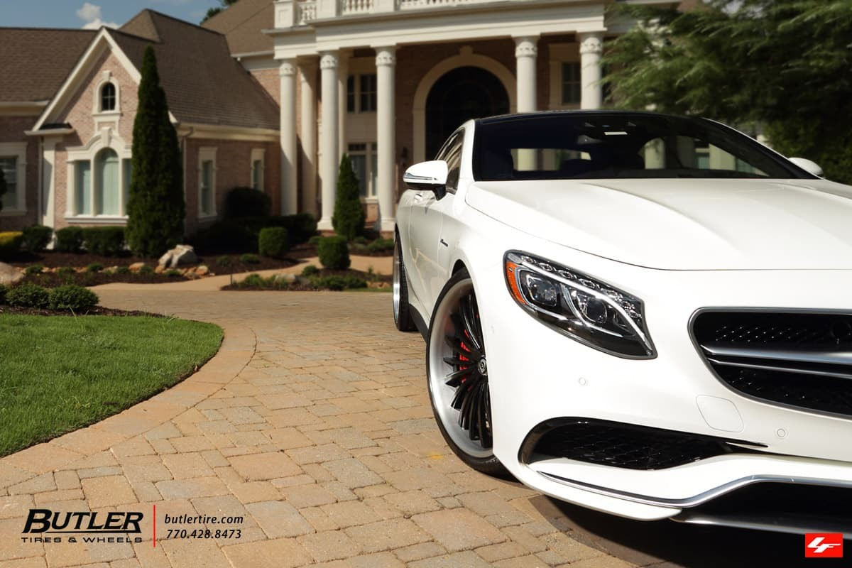 2015 Mercedes S550 Coupe on LF-722