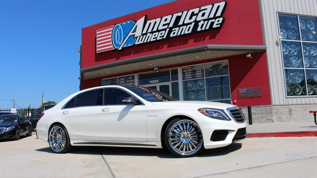 2015 Mercedes S65 on LF-722