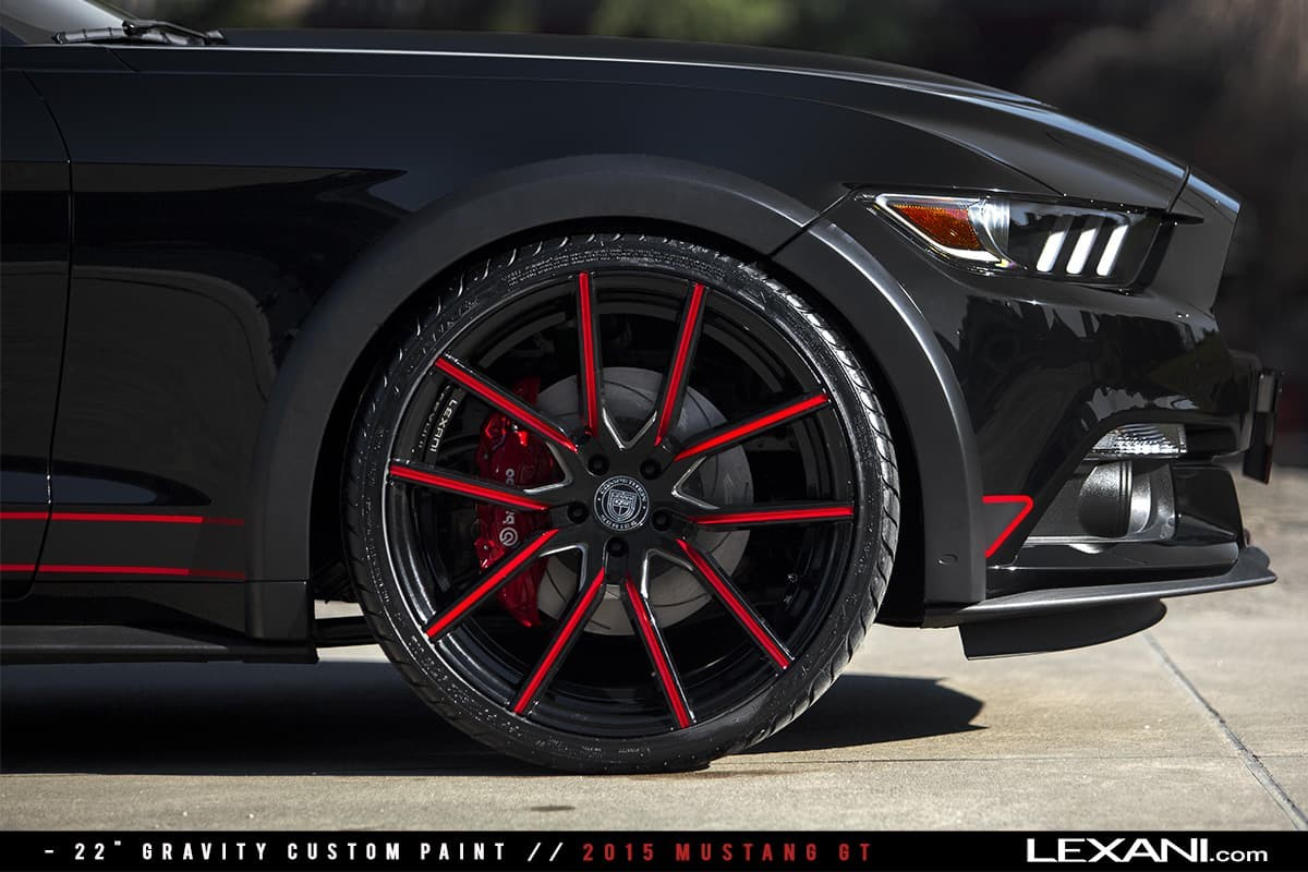 2015 Mustang GT on Gravity - Custom Finish
