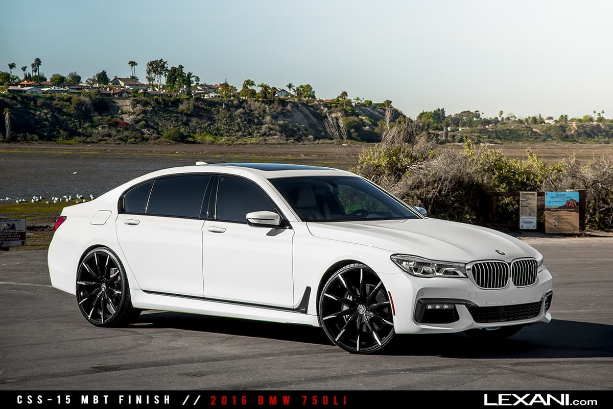 2016 BMW 750 LI on CSS-15