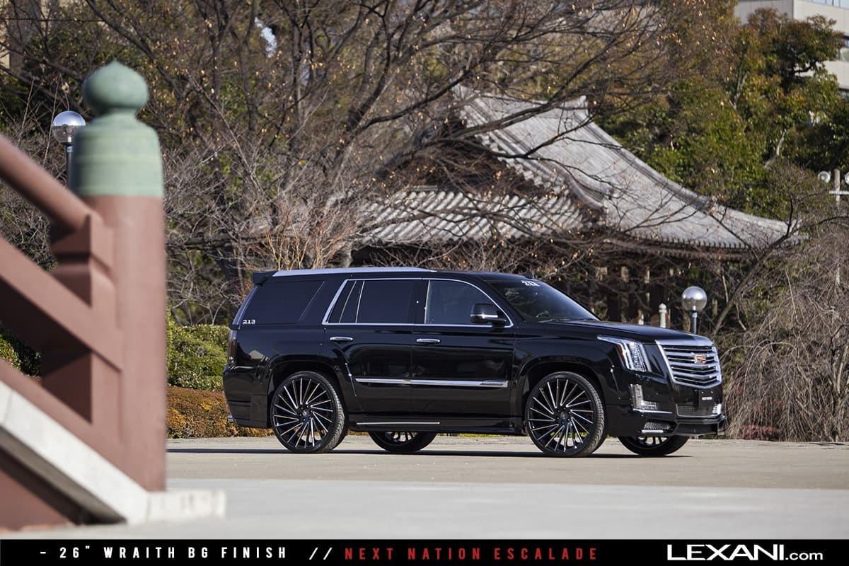 2015 Cadillac Escalade on Wraith