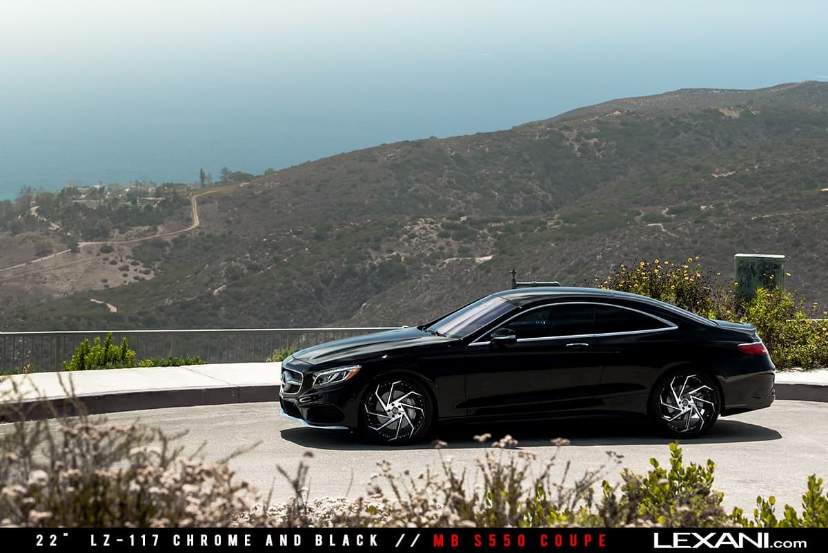 2016 Mercedes S550 Coupe on LZ-117