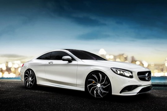 Mercedes S63 on Matisse - BG Finish