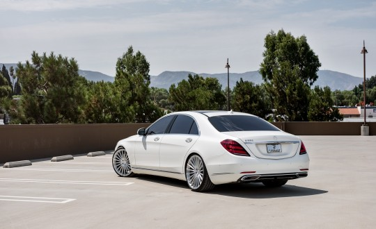 Mercedes S560 on MTS-01