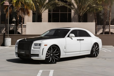 Mansory Rolls Royce Ghost on LZ-771 Radon