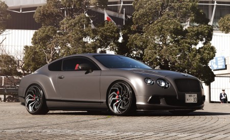 Matte Wrap Bentley Continental on LZ-722