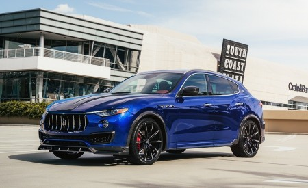 Maserati Levante on CSS-15