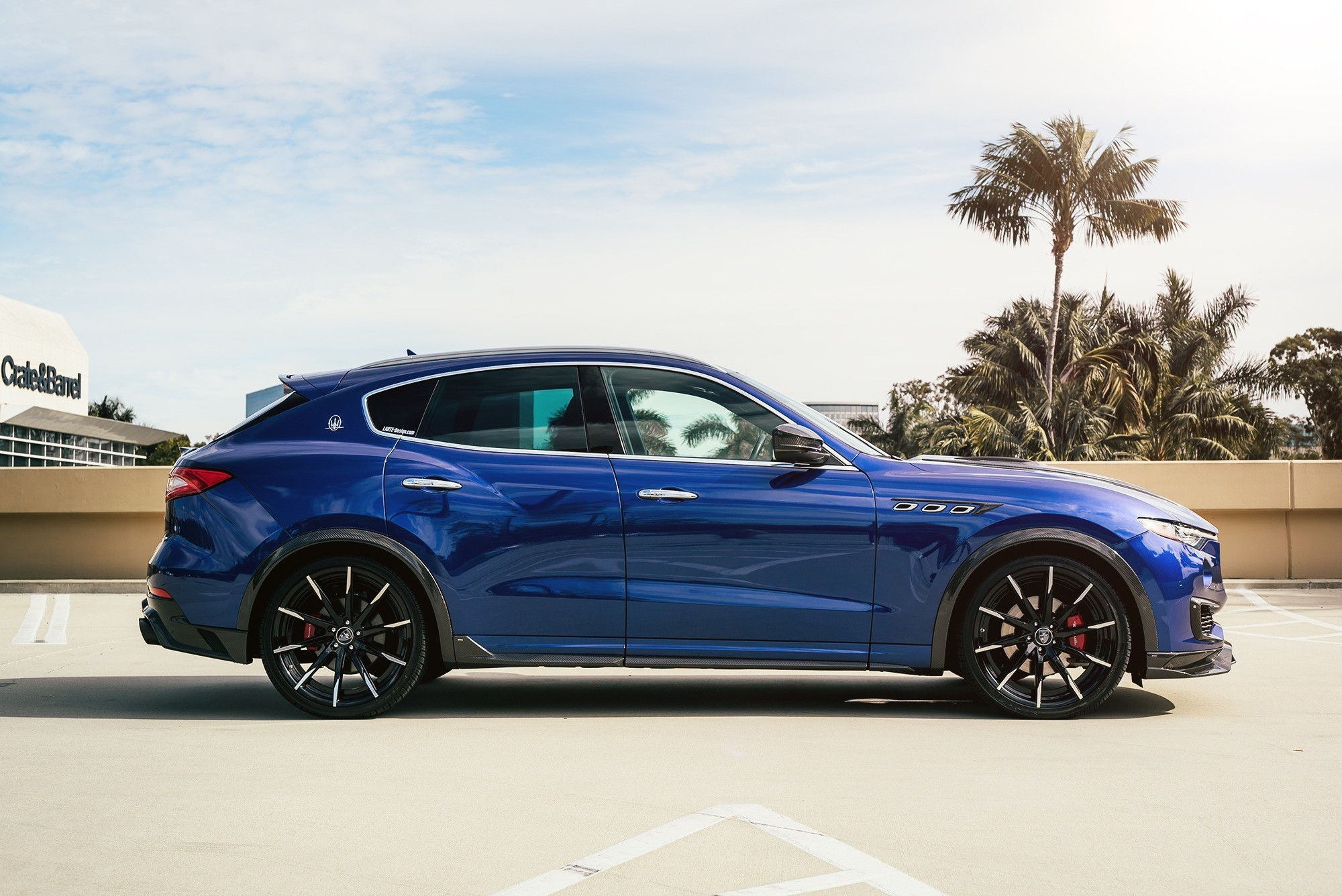 Maserati Levante on CSS-15 MBT Finish