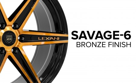 Savage-6 - Gloss Black w/ Brushed Bronze Face
