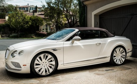 "Bentley Continental GT Speed Convertible on 22"" LZ-766"