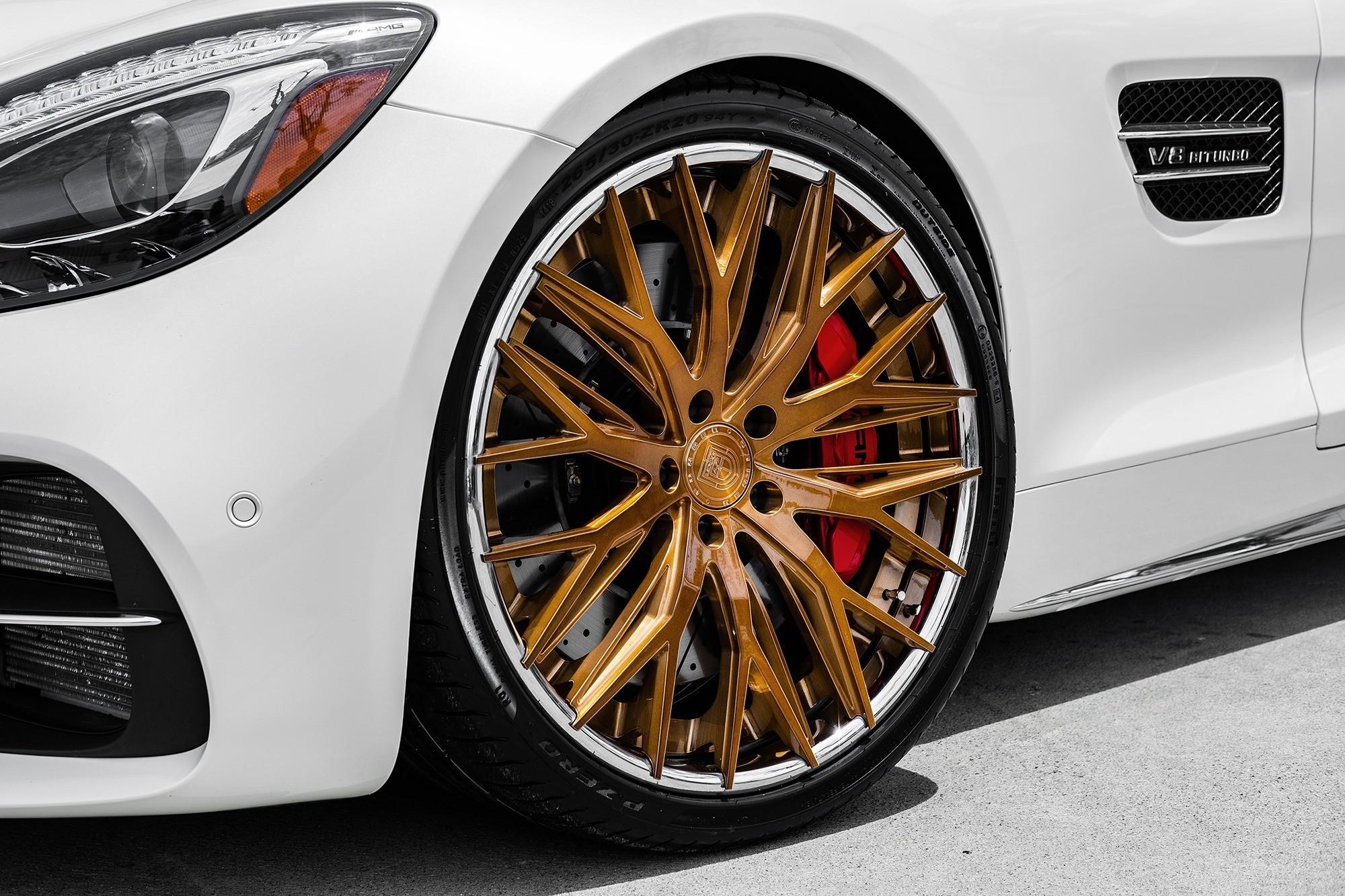 Mercedes GT C on LZ-Aries