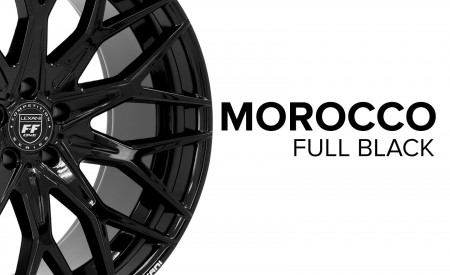 Morocco - Gloss Black Finish