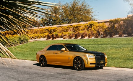 Custom Wrapped Rolls Royce Ghost on LZ-771 Custom Finish