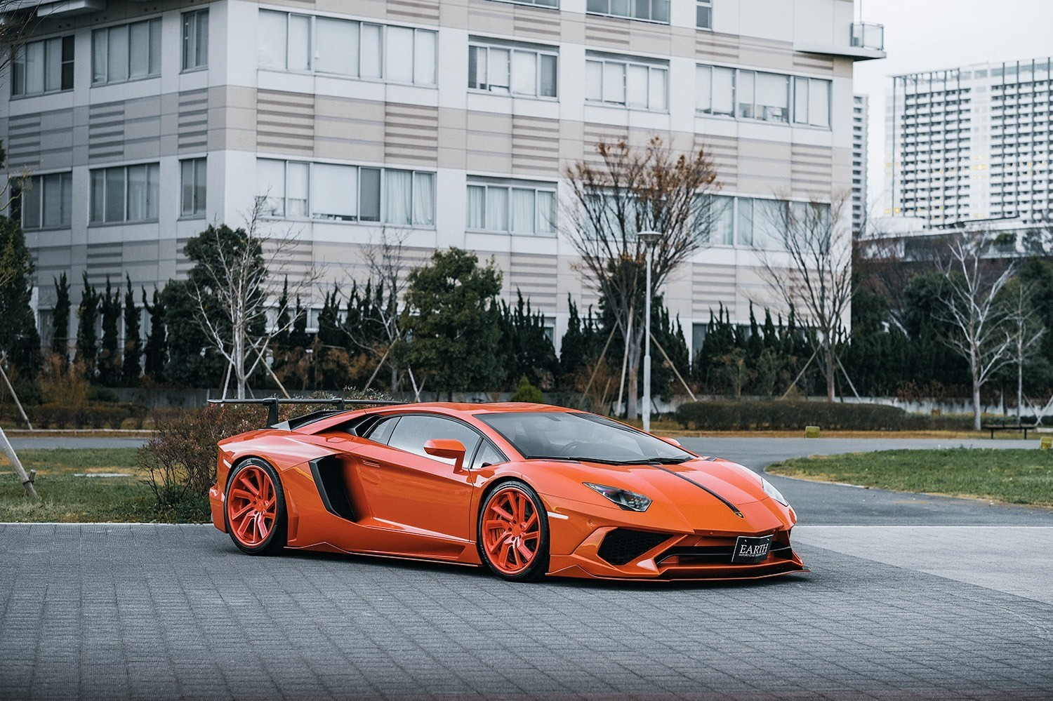 Lamborghini Aventador on LC-778