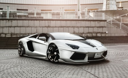 Liberty Walk Lamborghini Aventador on LZ-755