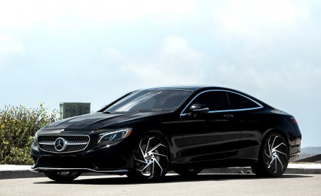 "Mercedes S550 4MATIC Coupe on 22"" LZ-117"