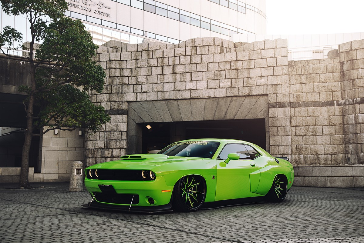 Dodge Challenger on LC-102