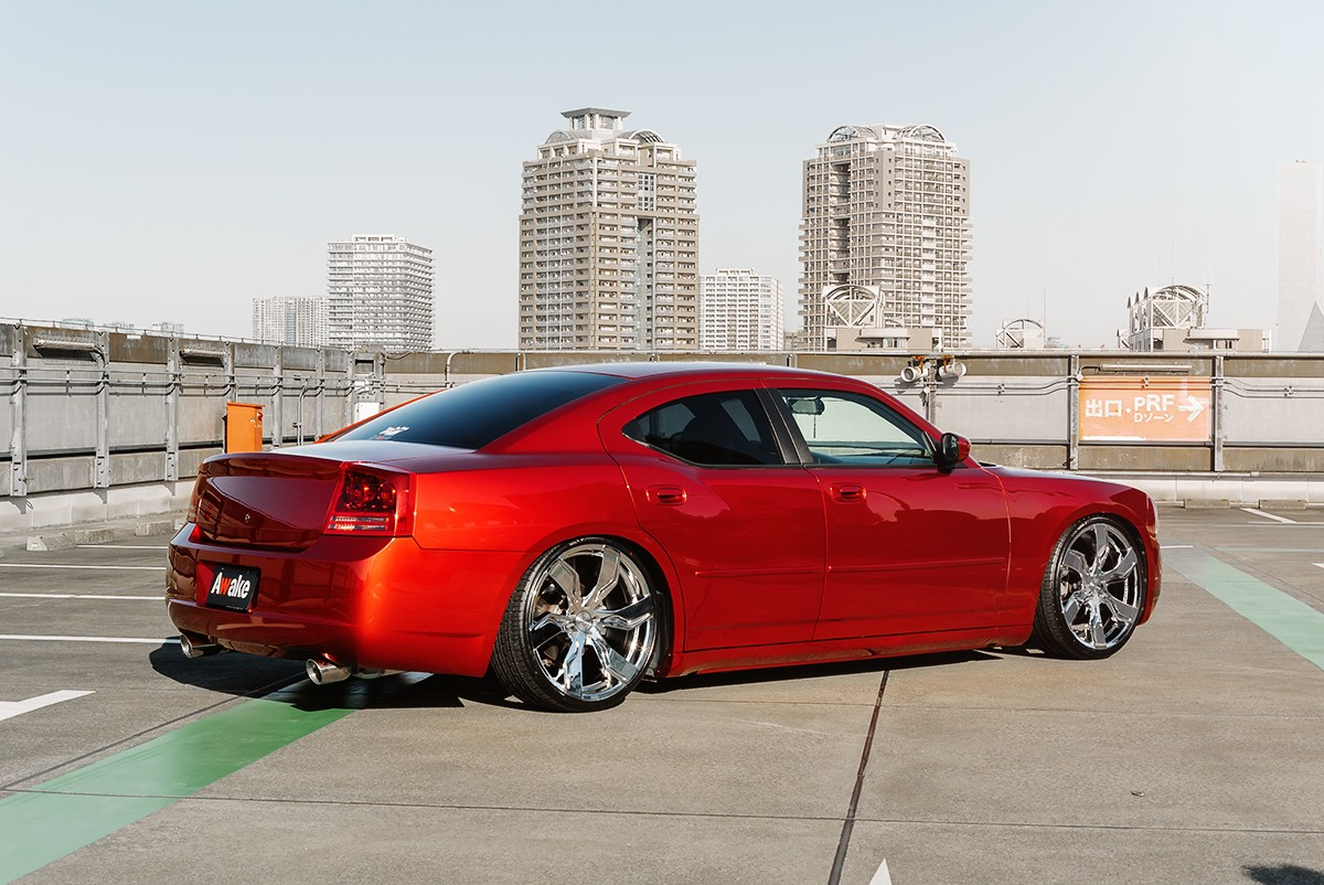 Dodge Charger on Zagato - Chrome Finish