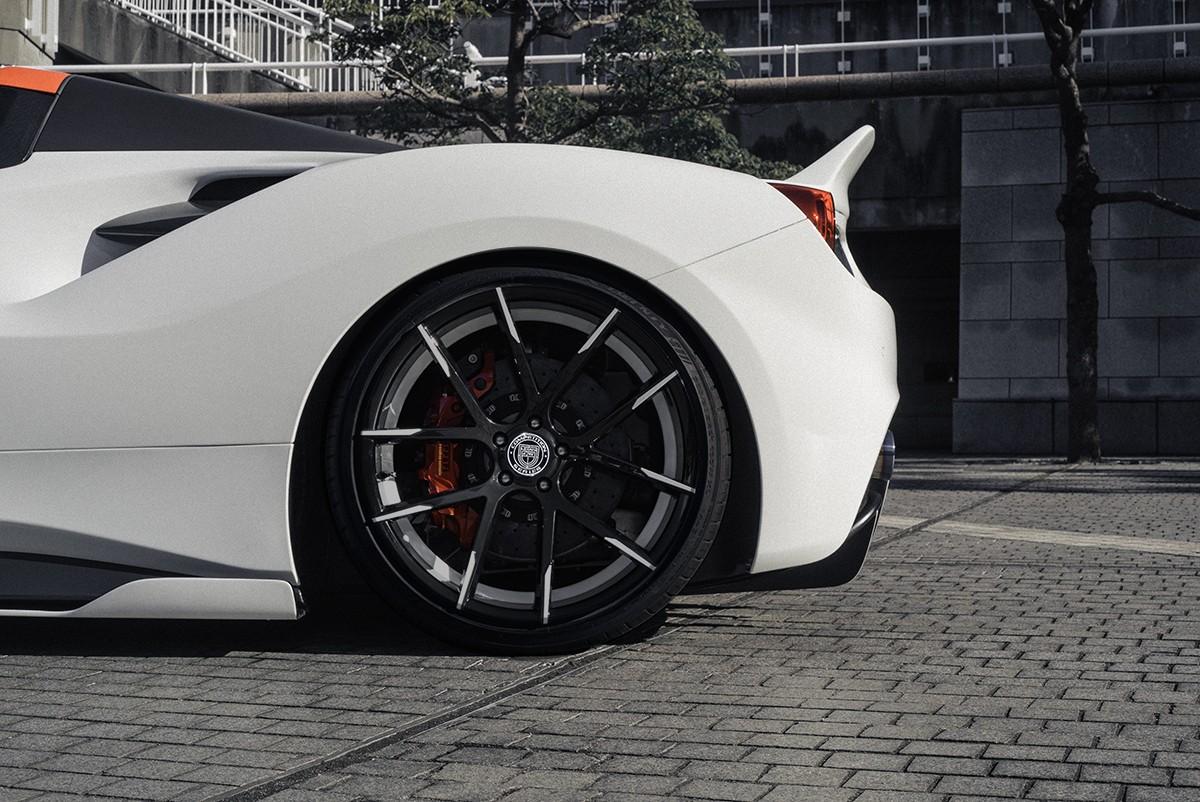 Ferrari 488 no Stuttgart